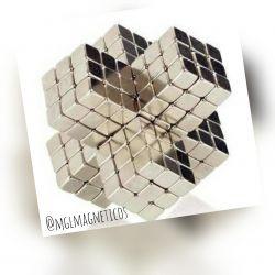 Ima De Neodimio Cubo 5x5x5mm